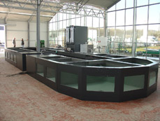 Fish storing system for koi and other pond fish