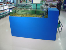 Ecresfish storage system for catering industry wholesaler's